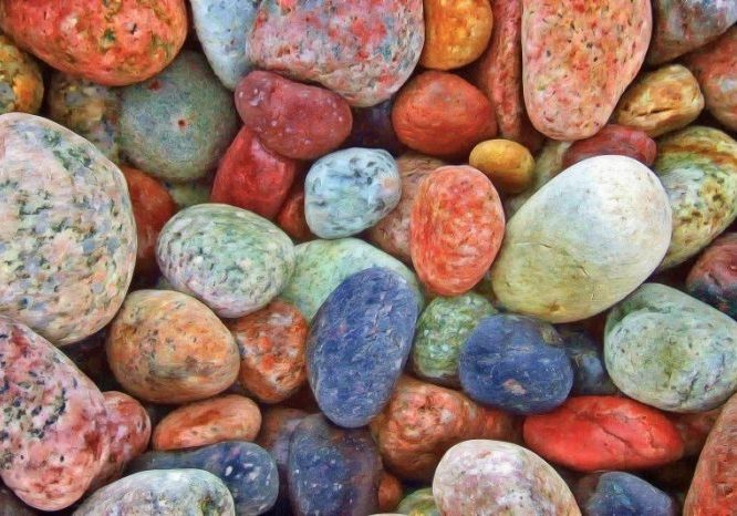 stones-as-background